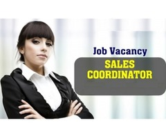Sales Coordinator Required for Real Estate Company in Dubai