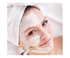 Home Service for Ladies Facial with Bleach and Polish