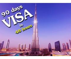UAE Visit Visa without cash deposit