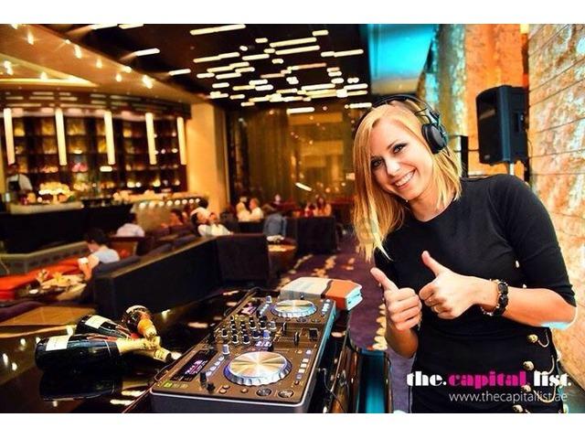 Freelance Female DJ from Ukraine in Dubai