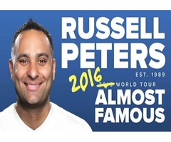 Tickets for Russell Peters Almost Famous in Dubai