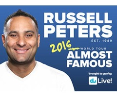 Russell Peters show 20th Jan,2016