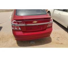 Chevrolet Aveo 2009 maroon for sale