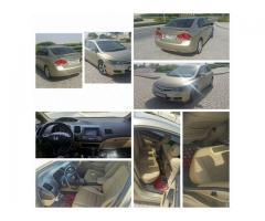 Honda Civic 2008 full option for Sale in Dubai
