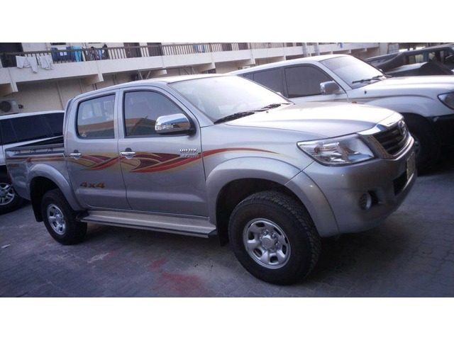 toyota hilux pickup 4x4 double cabin 2015 for sale in al