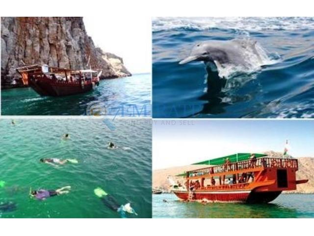 Full day Oman Musandam Dibba Trip