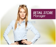 Immediately Required Retail Store Manager in Dubai