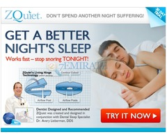 Zquiet Snoring Solution Middle East