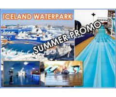 Iceland Waterpark Tickets only for 125 Dirhams