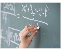 Mathematics Faculty Required for Reputed College in Ajman