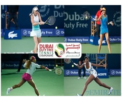 Womens Semi Final Tennis Tournament Tickets for Sale in Dubai
