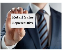 Retail Sales Representative Required for Perfumes Shop