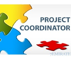 Project Coordinator Required a Telecom Company in Dubai