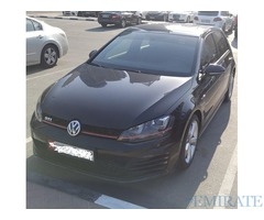 VW Golf GTi 2014 Under Warranty for Sale in Dubai