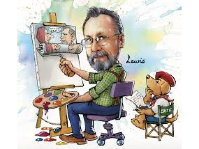 Cartoonist Available for Your Parties and Events
