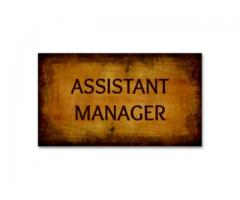Assistant manager & Supervisor Required in Dubai Free Zone