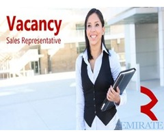 Urgently Required Female Sales Representative for Ajman