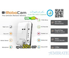 Get the ROBOCAM the Ultimate Remote Monitor