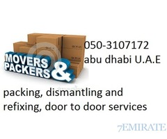 kabayan movers and packers in abu dhabi 050-3107172