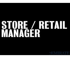 Retail Manager Required for Retail Group in Dubai