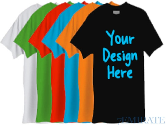 Personalized t shirt printing service in dubai dubai for Personal t shirt printing