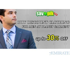 Buy Men Clothing on Discount