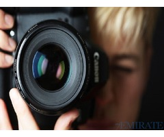 Professional Female Photographer Required in Abu Dhabi
