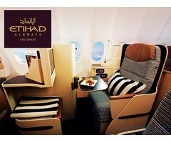 Etihad Airways Business Class Tickets at Discounted Price
