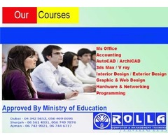 All type of Computer Short and Long Courses in Dubai and UAE