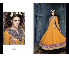 Party wear Salwars - Semi stitched