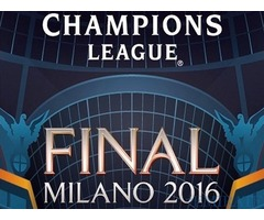 Champions league Final tickets Milan 2016 for Sale in Dubai