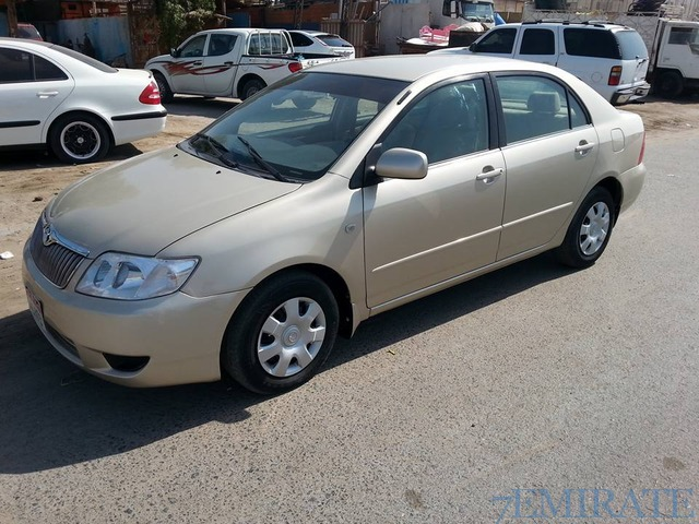 toyota corolla engine 1 3 model 2007 for sale in dubai dubai 7emirate best place to buy sell. Black Bedroom Furniture Sets. Home Design Ideas