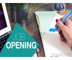 HR Assistant Required for Company in Sharjah