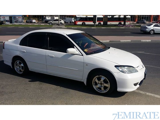 urgent sale honda civic 2004 in sharjah sharjah 7emirate best place to buy sell and find job. Black Bedroom Furniture Sets. Home Design Ideas