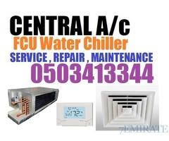 Window + Split + Central Ac FCU Unit Maintenance Service
