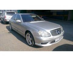 Mercedes Benz S55 AMG 2001 for Sale in Ajman