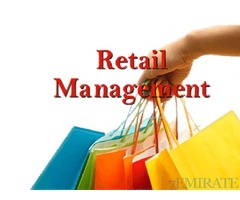 Retail Manager Required for Company in Dubai