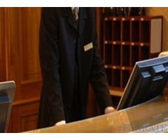 Male Receptionist Required for Hotel in Sharjah