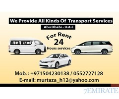 We Provide All Kinds Of transport service in Abu Dhab