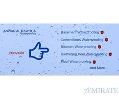Best Waterproofing Services provider in UAE