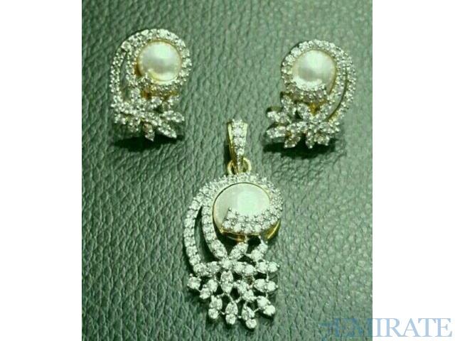 Zircon jewellery set