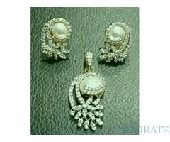 Zircon jewellery set