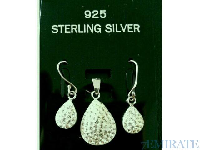 Silver 925 zircon earings