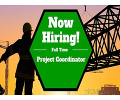 Urgently required Project coordinator for steel constructions company