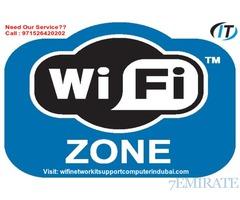 DUBAI WIFI ROUTER BEST SIGNAL SETUP TECHNICIAN IT EXPERT Installation 0526420202