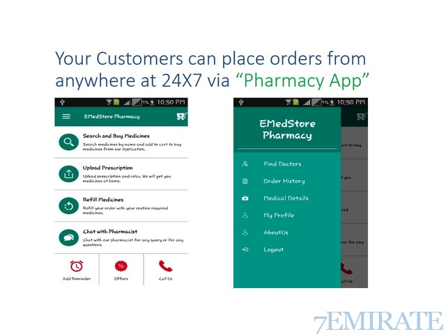 Your Pharmacy Mobile App will be lived on Google Play Store