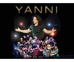 Yanni Concert In Abu Dvhabi Tickets 29 & 30 Sep