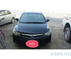 Honda civic 2007 in excellent condition for sale in Dubai
