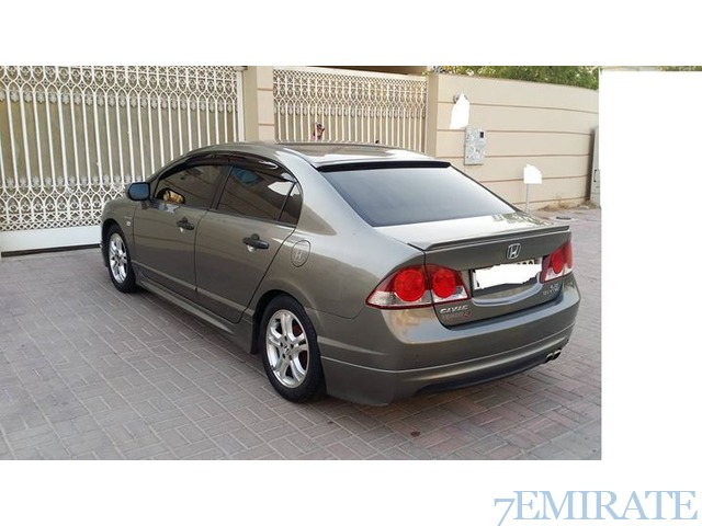 beautiful honda civic 2007 for sale in dubai dubai 7emirate best place to buy sell and find. Black Bedroom Furniture Sets. Home Design Ideas