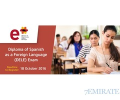 Take the DELE Examination at Eton Institute Dubai